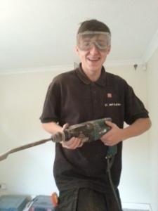 Apprentice George to the rescue